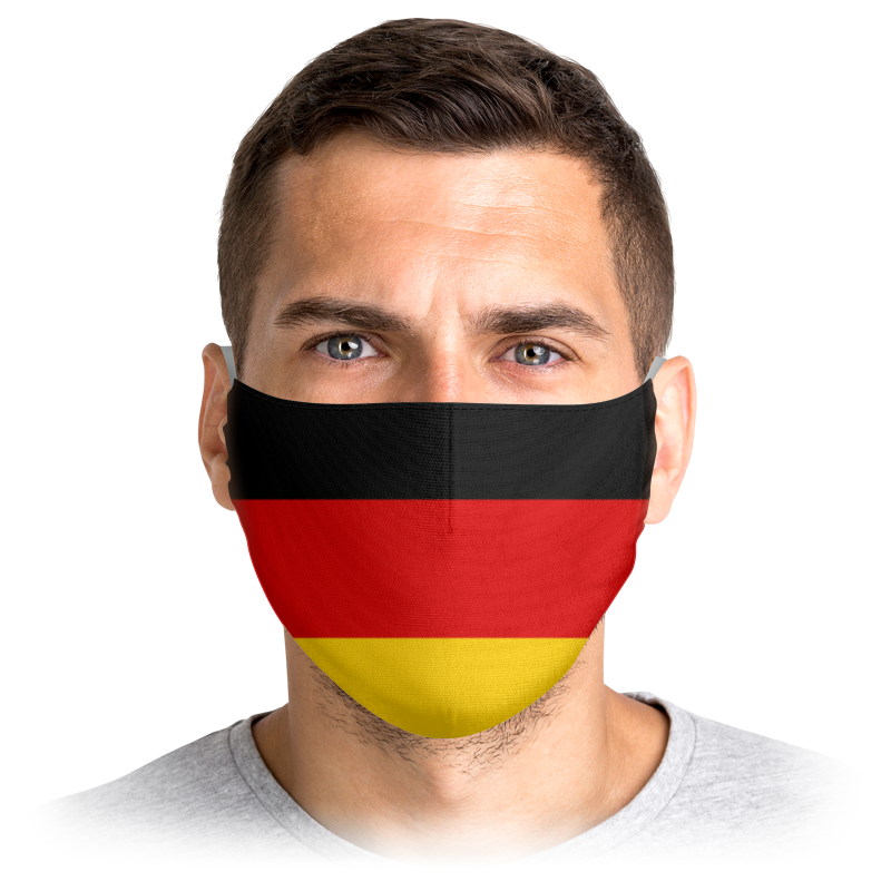 Printio Маска лицевая Флаг германии