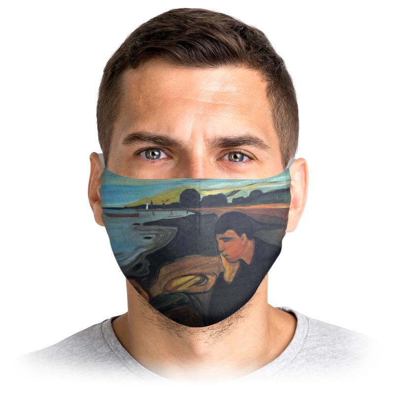 Printio Маска лицевая Меланхолия (эдвард мунк)
