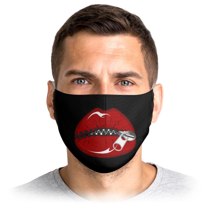 Printio Маска лицевая Рот на замке printio маска лицевая смотри на меня