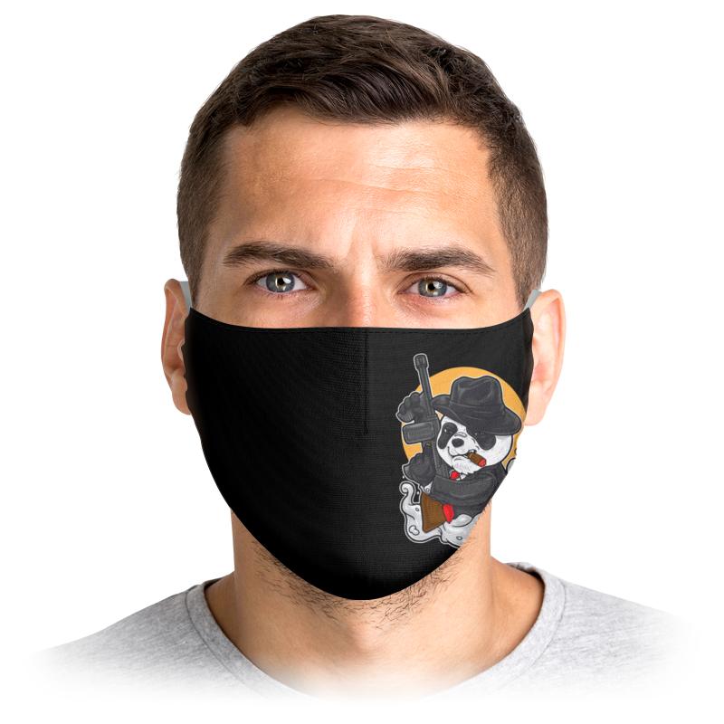 Printio Маска лицевая Панда бандит