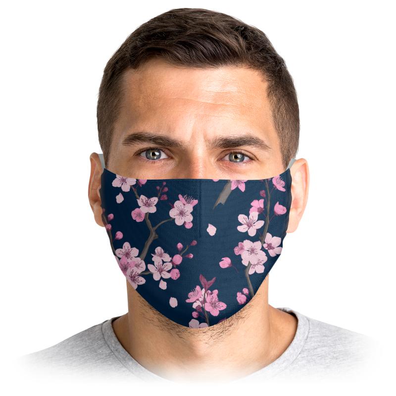 Printio Маска лицевая Цветочки
