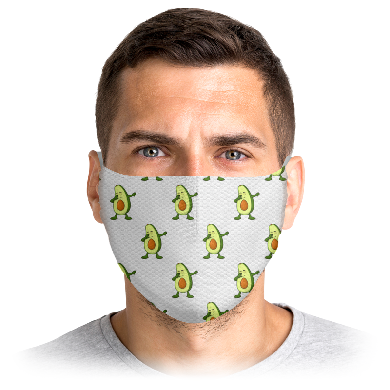 Printio Маска лицевая Avocado dab