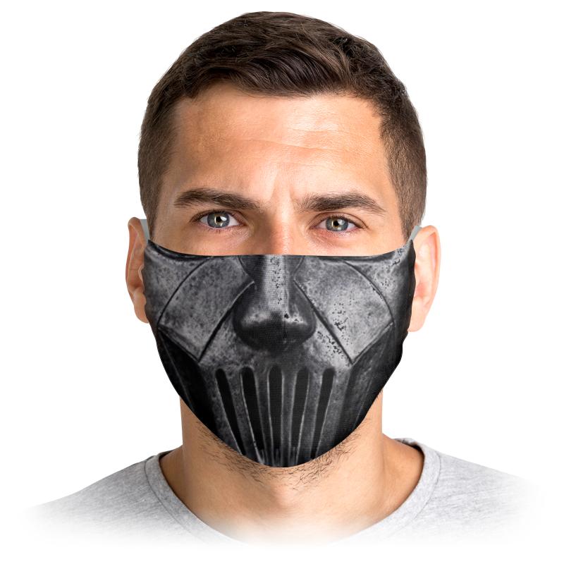 Printio Маска лицевая Чёрная маска для лица