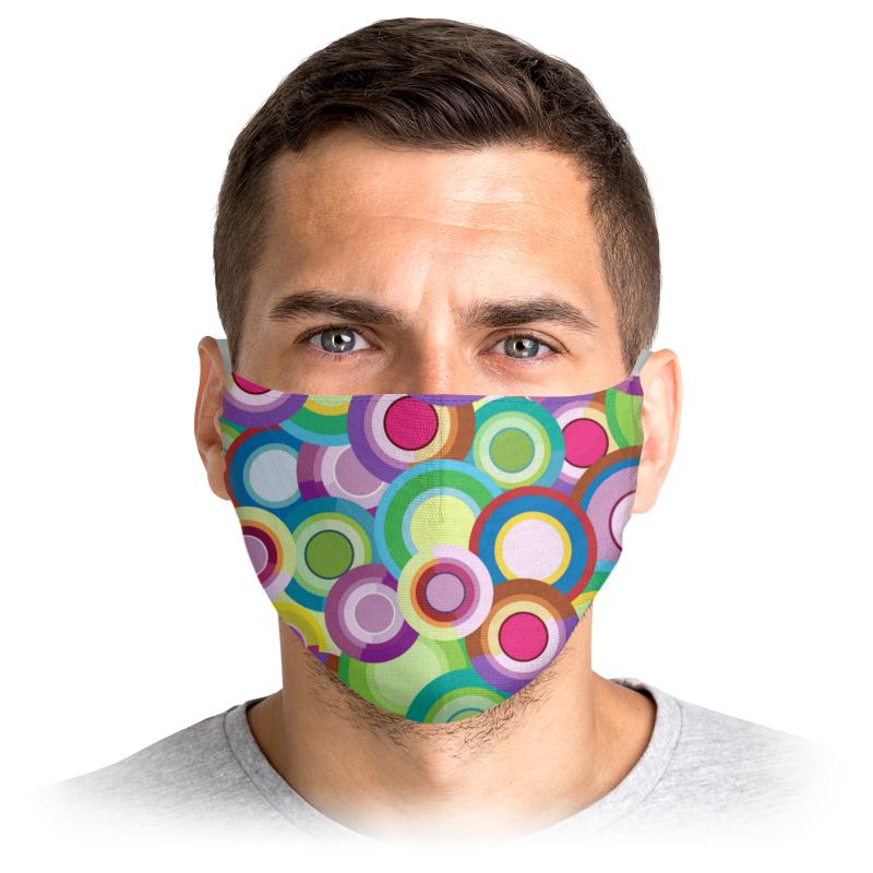 Printio Маска лицевая Цветные круги