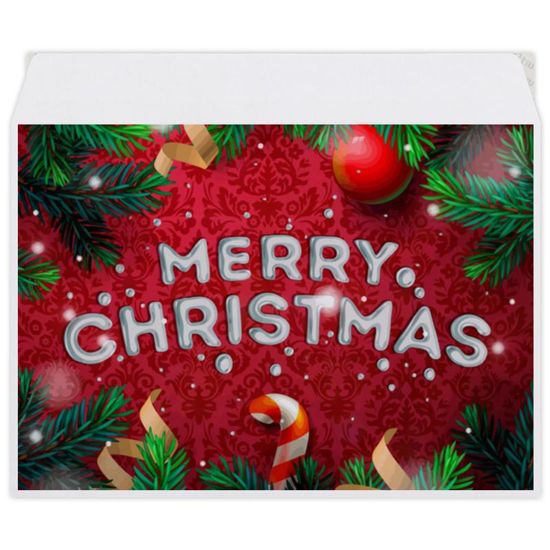 Printio Конверт средний С5 Merry christmas