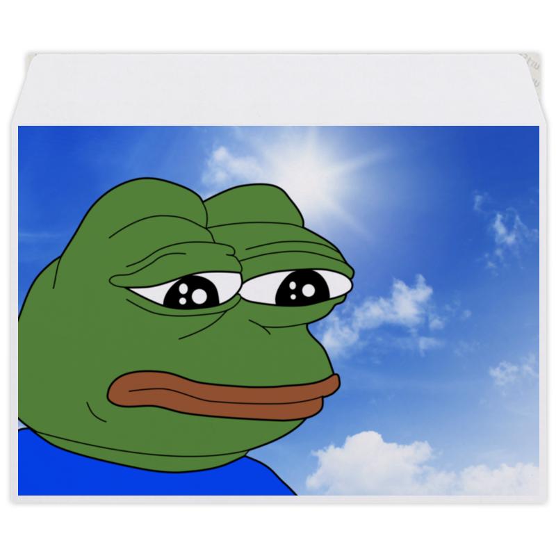 Printio Конверт средний С5 Sad frog