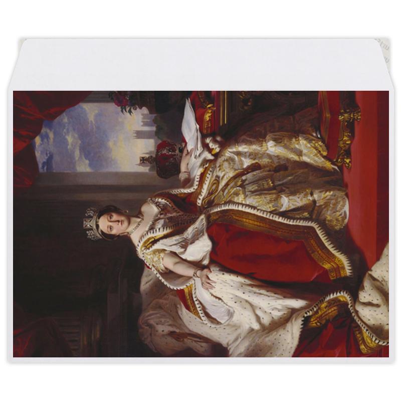 Printio Конверт средний С5 Портрет королевы великобритании виктории