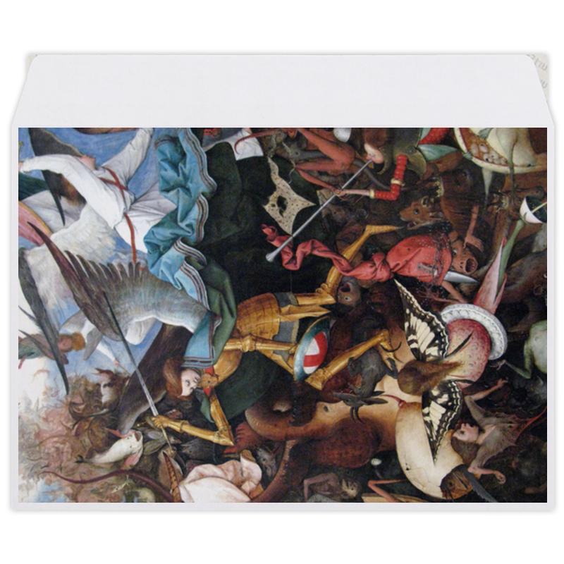 Printio Конверт средний С5 Падение мятежных ангелов (питер брейгель)