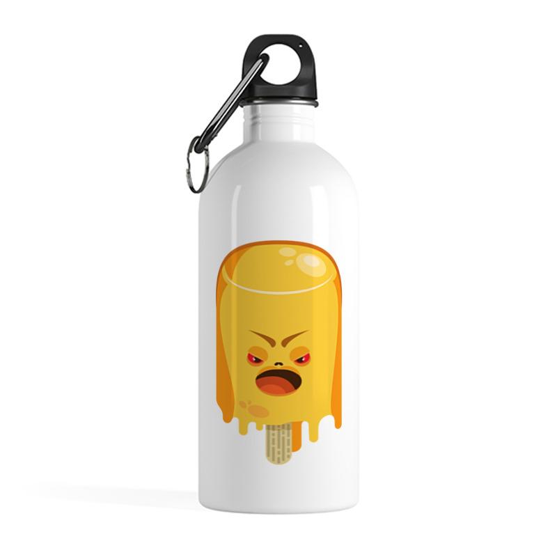 Printio Бутылка металлическая 500 мл Поющая мороженка