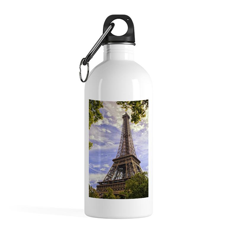Фото - Printio Бутылка металлическая 500 мл Эйфелева башня printio бутылка металлическая 500 мл верни мое сердце