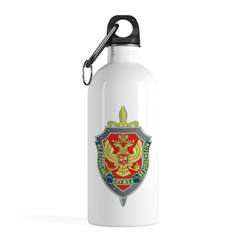 Printio Бутылка металлическая 500 мл Фсб рф