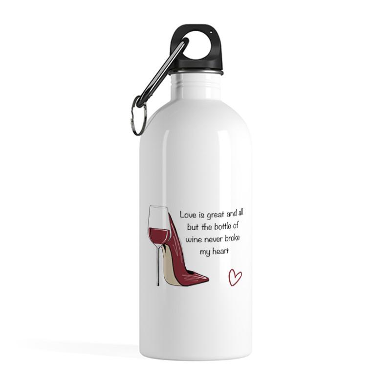 Фото - Printio Бутылка металлическая 500 мл Время вина printio бутылка металлическая 500 мл верни мое сердце