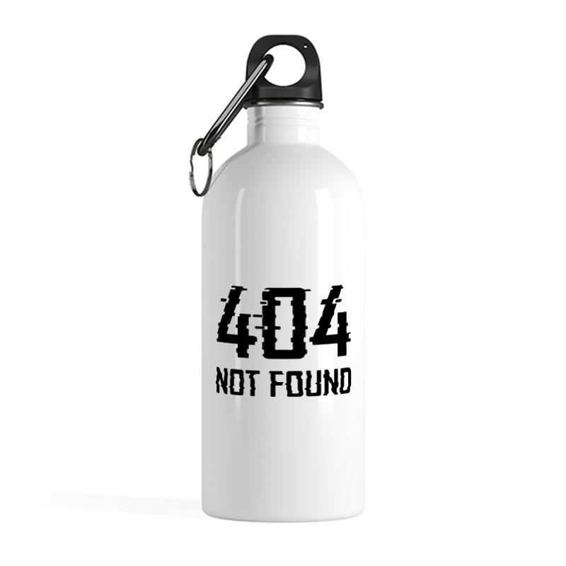 Printio Бутылка металлическая 500 мл Ошибка 404