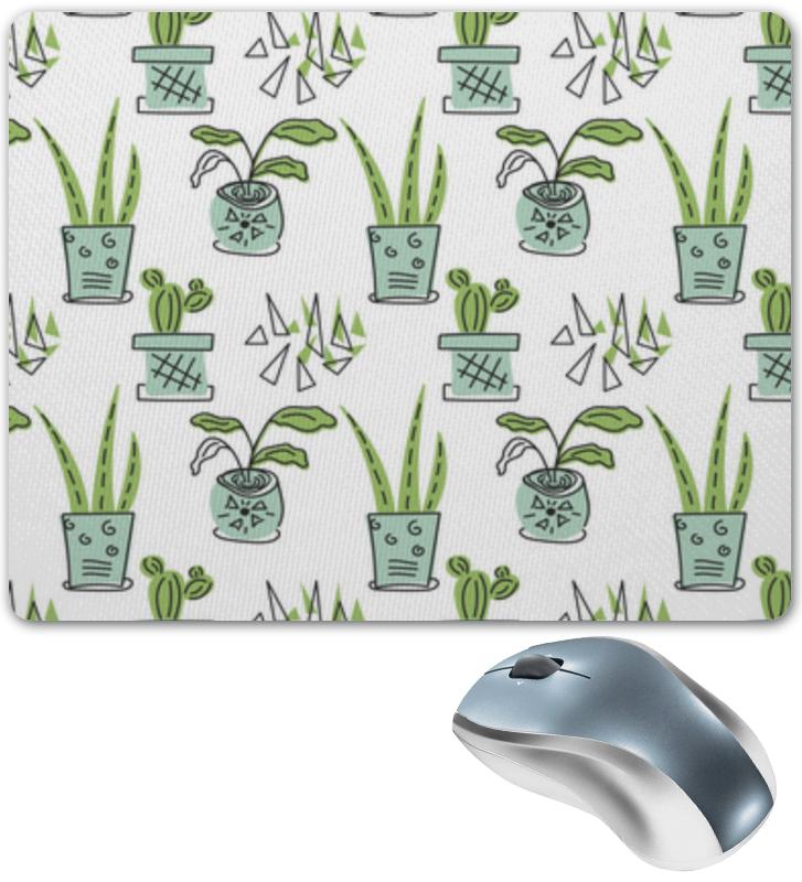 Printio Коврик для мышки Комнатные растения и кактусы