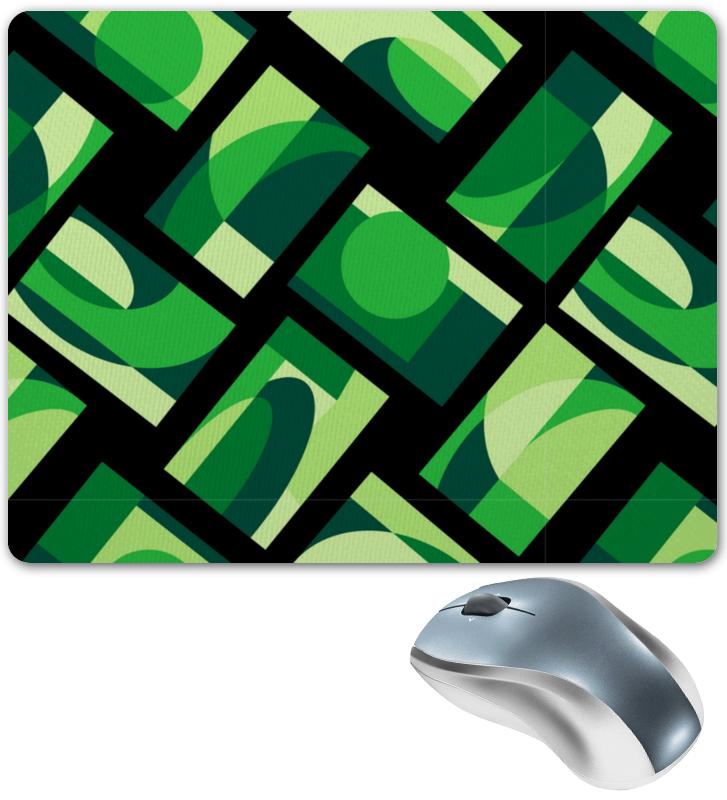 Printio Коврик для мышки Зеленая абстракция