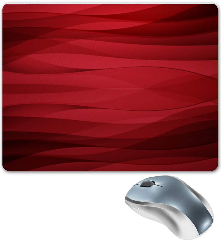 Printio Коврик для мышки Красная абстракция