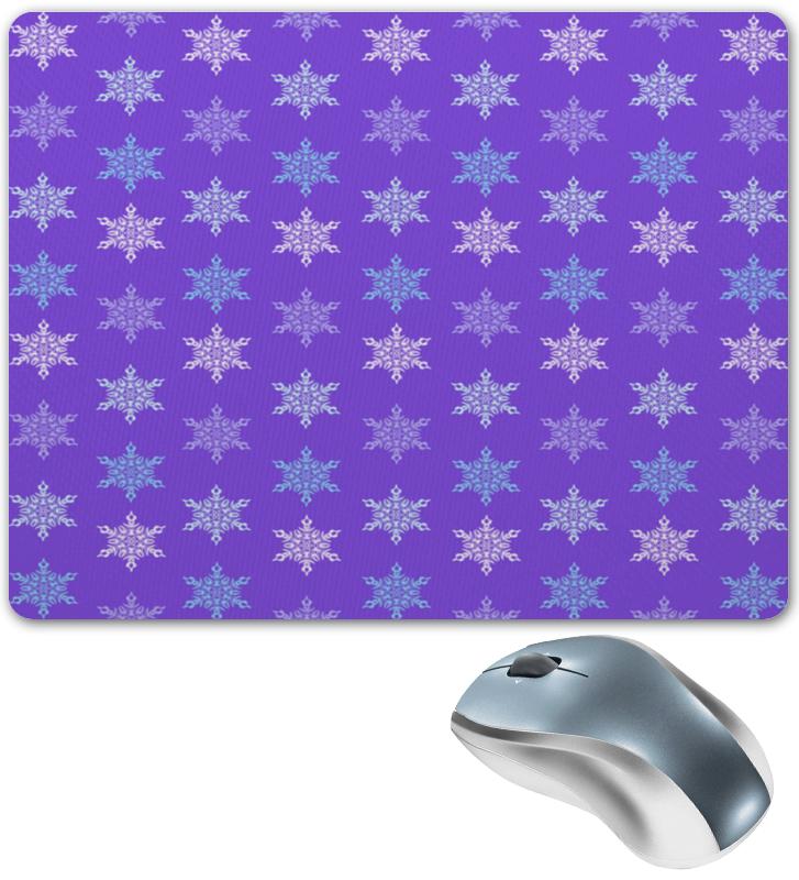 Printio Коврик для мышки Резные снежинки