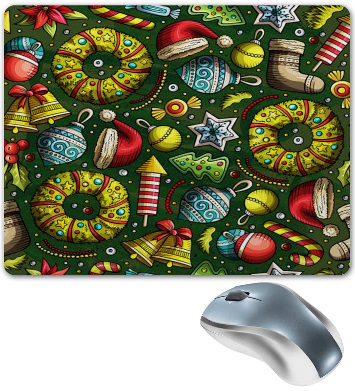 Printio Коврик для мышки Елочные игрушки