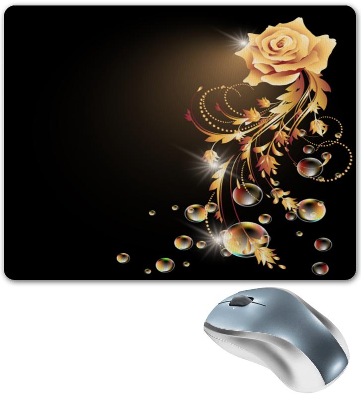 Фото - Printio Коврик для мышки Золотая роза printio коврик для мышки золотая роза
