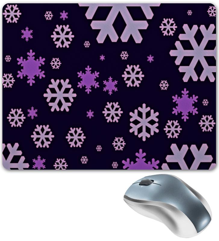 Фото - Printio Коврик для мышки Снежинки printio коврик для мышки замок