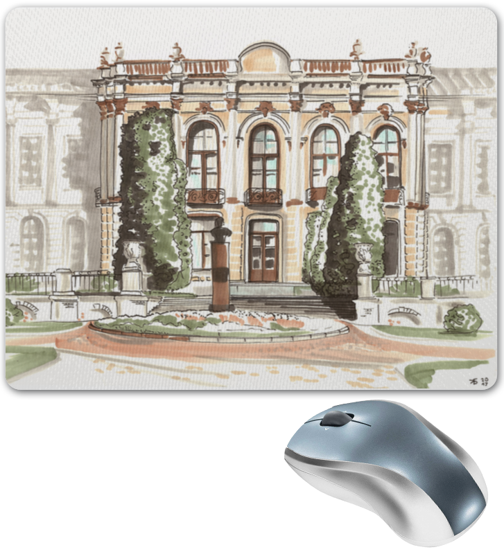 printio коврик для мышки шварц со своим кумиром александром невским Printio Коврик для мышки Тимирязевская академия
