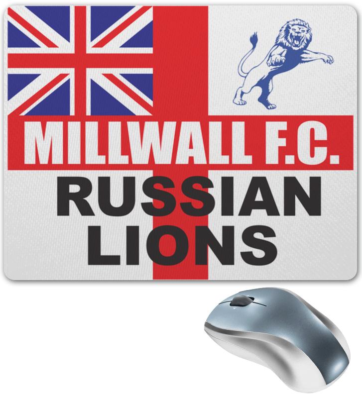 Printio Коврик для мышки Millwall russian lions mouse pad