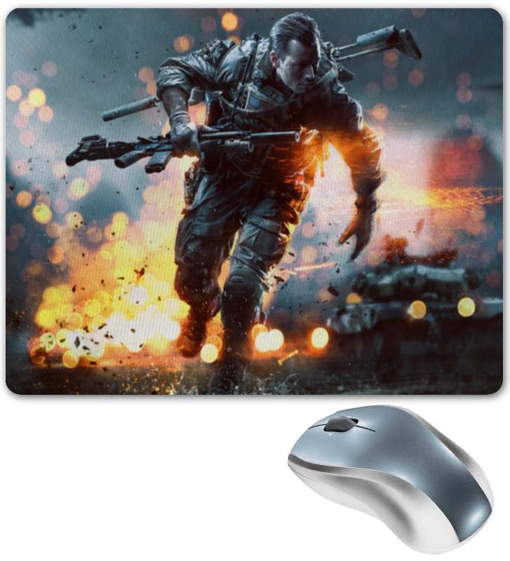 Printio Коврик для мышки Battlefield 4