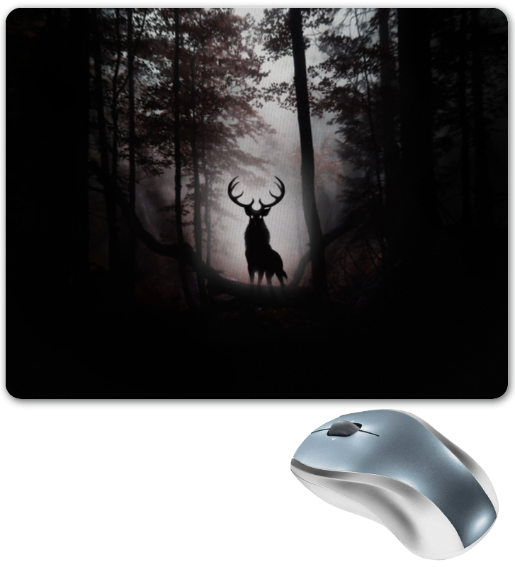 Printio Коврик для мышки Лесной зверь