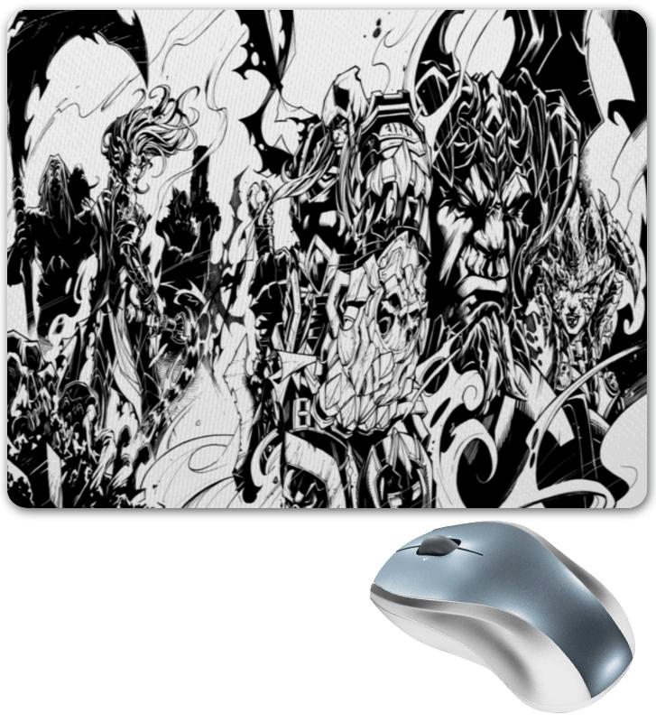 Printio Коврик для мышки Черно-белый рисунок