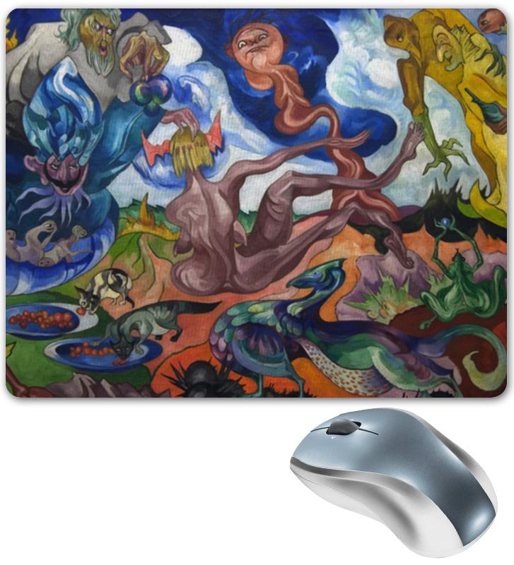Printio Коврик для мышки Создание мира (станислав виткевич)