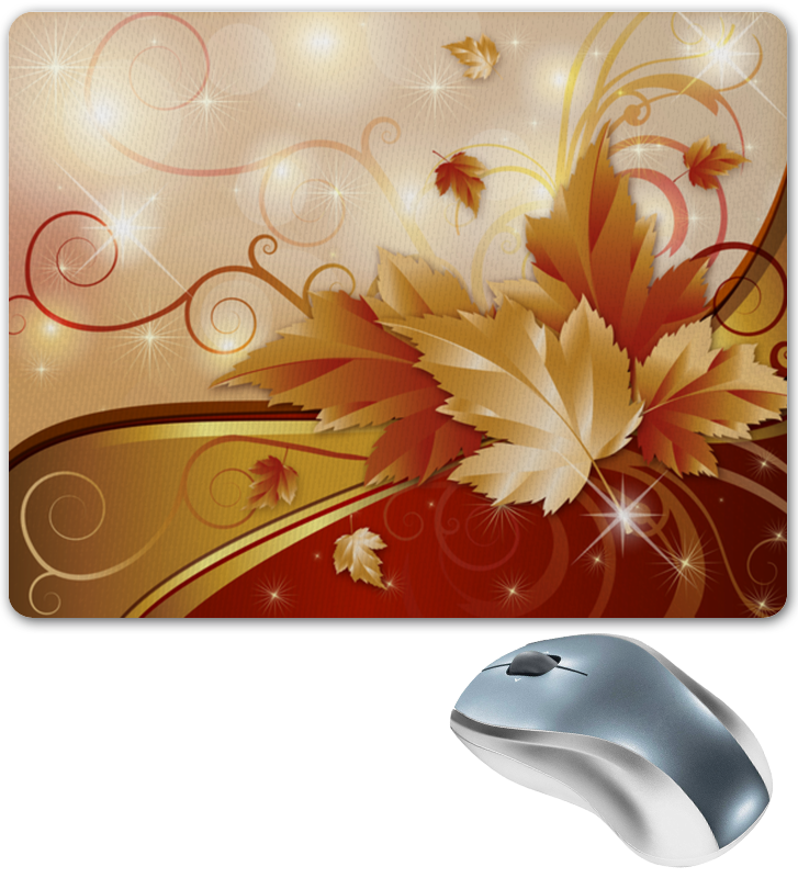 Printio Коврик для мышки Осенние листья