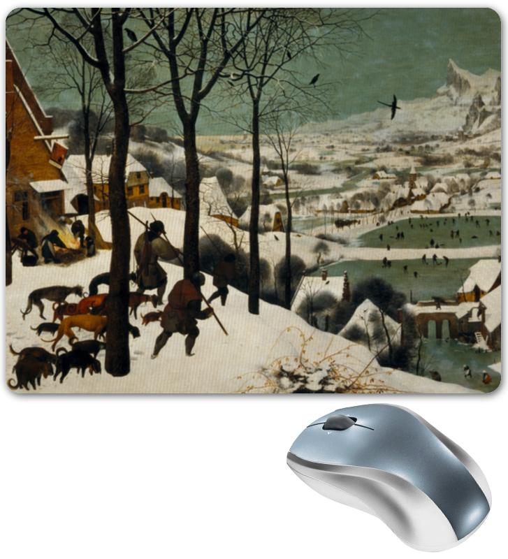 Printio Коврик для мышки Охотники на снегу (питер брейгель старший) printio пазл 43 5×31 4 см 408 элементов охотники на снегу питер брейгель старший