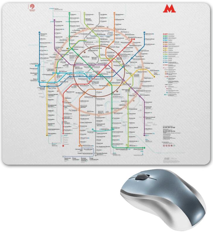 Фото - Printio Коврик для мышки Метро москвы printio коврик для мышки схема московского метро 2020