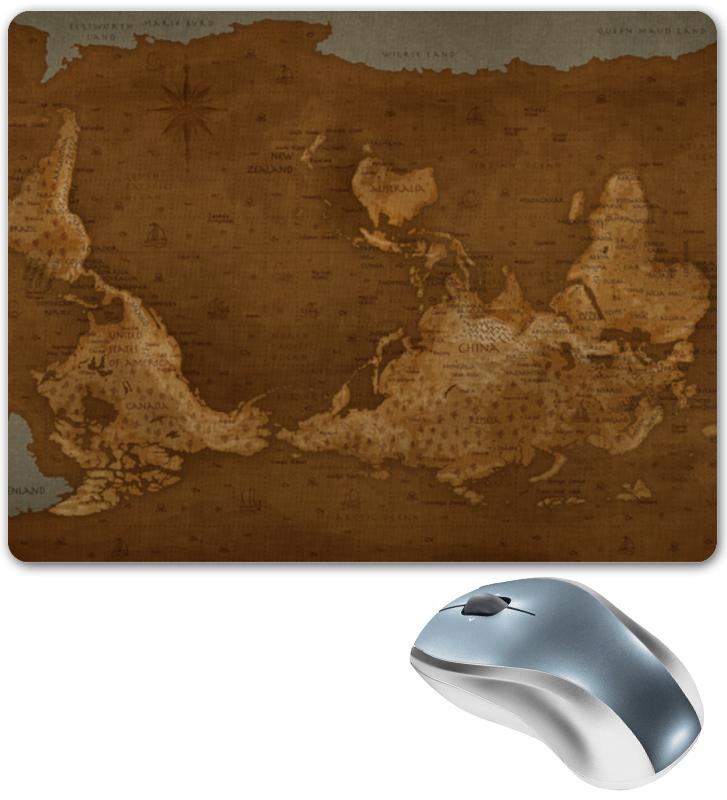 Printio Коврик для мышки Карта мира