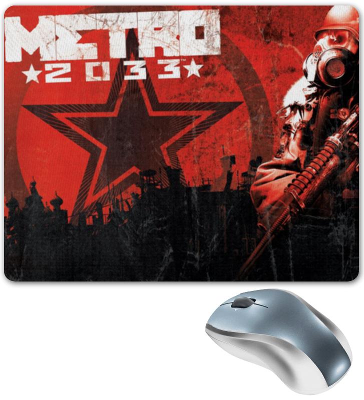 Printio Коврик для мышки Metro 2033