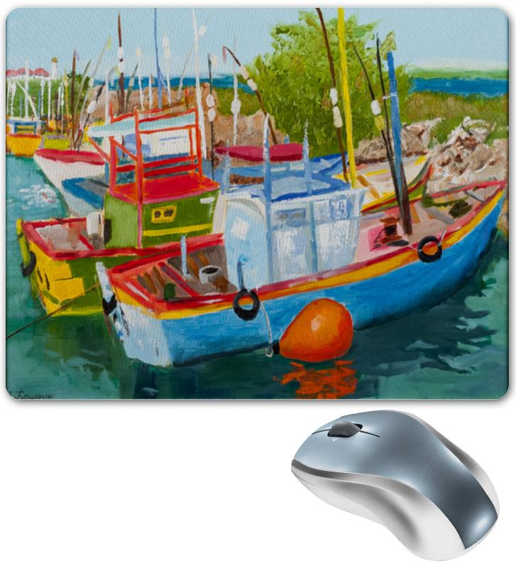 Printio Коврик для мышки Рыбацкие лодки в мирисе
