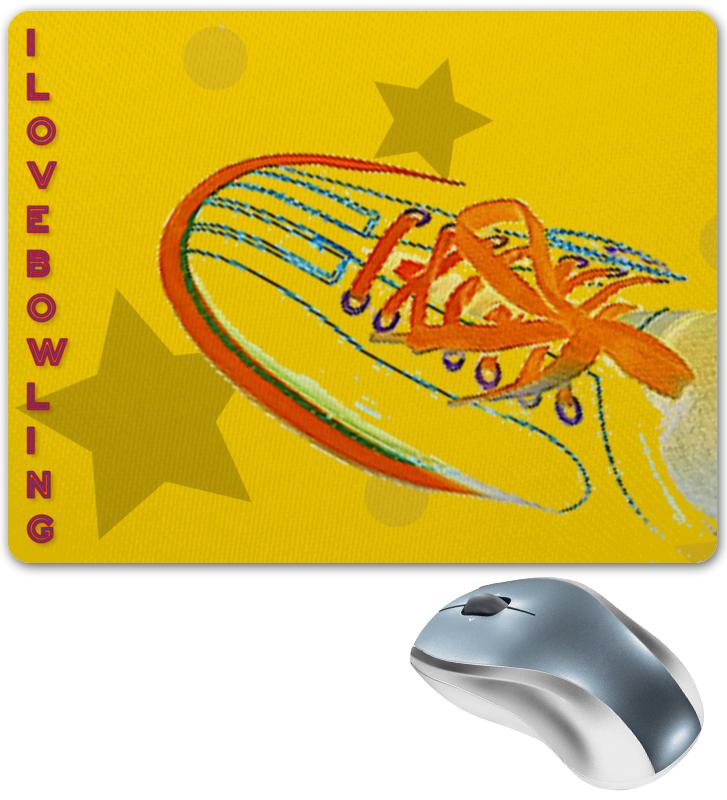 Фото - Printio Коврик для мышки I love bowling. printio сумка i love bowling