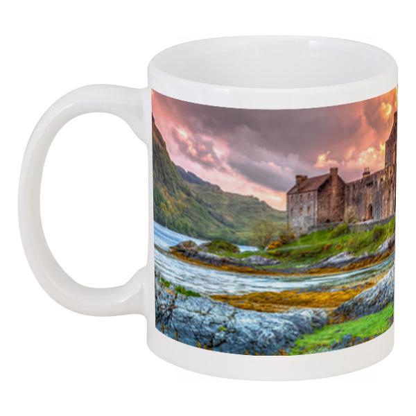 Фото - Printio Кружка Замок в шотландии набор полесье замок башня замок стена с двумя башнями замок мост 37251