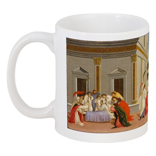 Printio Кружка Сцена из жизни святого зиновия, 3 (боттичелли)