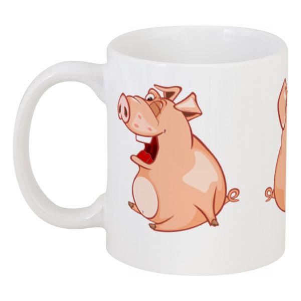Printio Кружка Прикольные свиньи