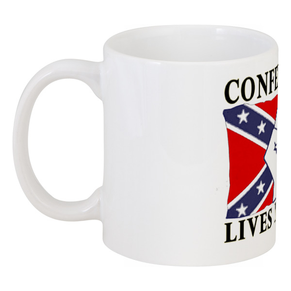 Printio Кружка Флаг конфедерации сша