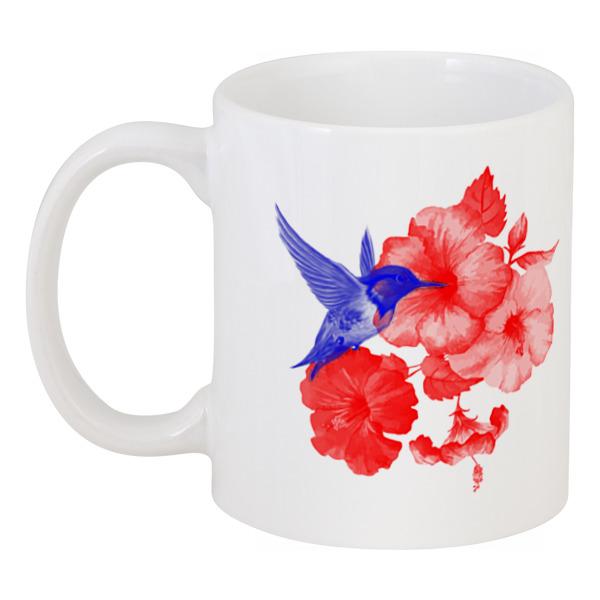 Printio Кружка Кружка колибри и лилии