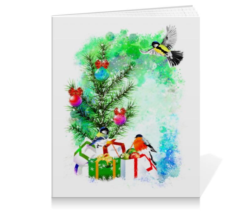 printio тетрадь на скрепке новогоднее настроение Printio Тетрадь на клею Новогоднее настроение.