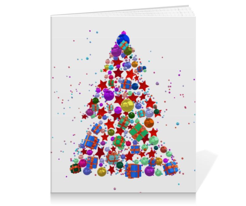 Printio Тетрадь на клею Новогодние праздники