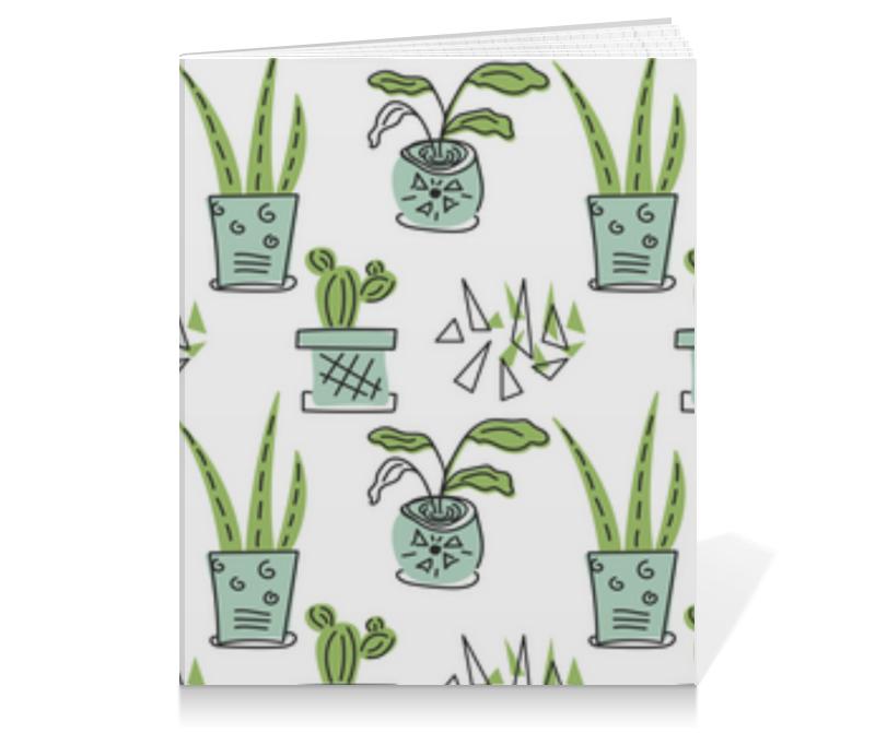 Printio Тетрадь на клею Комнатные растения и кактусы
