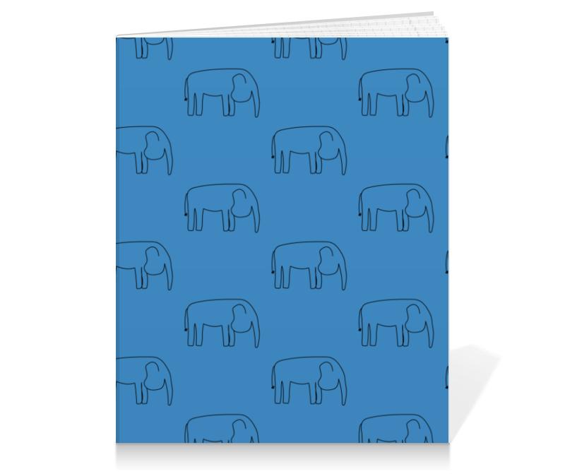 Printio Тетрадь на клею Черный слон printio тетрадь на клею черный слон