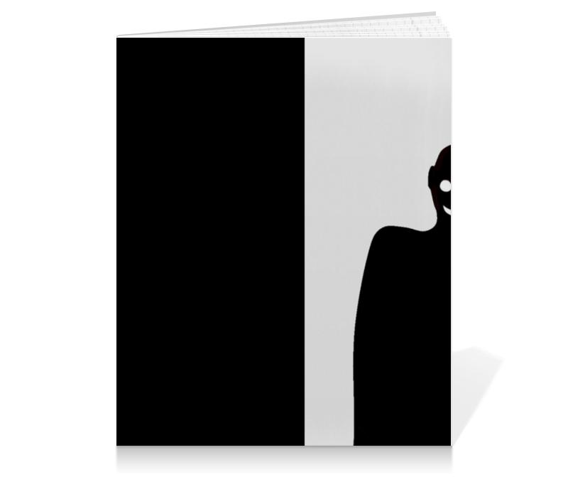 Printio Тетрадь на клею Черное&белое