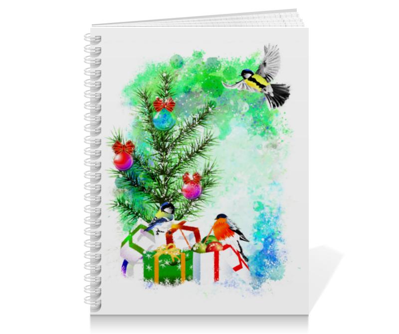 printio тетрадь на скрепке новогоднее настроение Printio Тетрадь на пружине Новогоднее настроение.