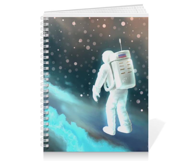 Printio Тетрадь на пружине Космический путешественник