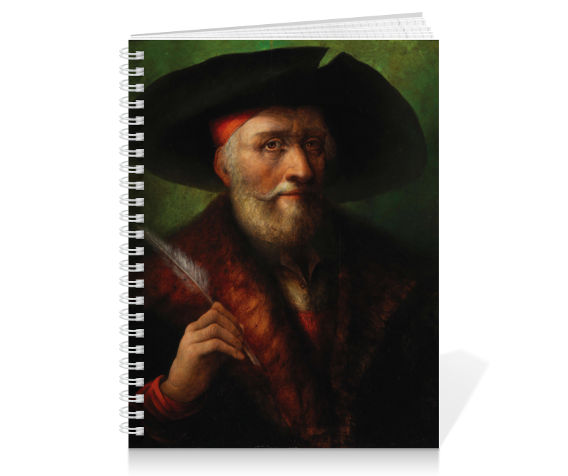 Printio Тетрадь на пружине Albrecht dürer stacey bieler albrecht dürer